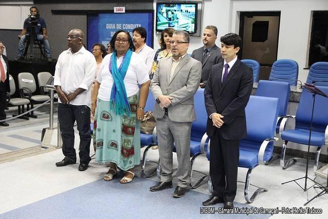 Cidadãos recebem homenagens na Câmara de Camaçari
