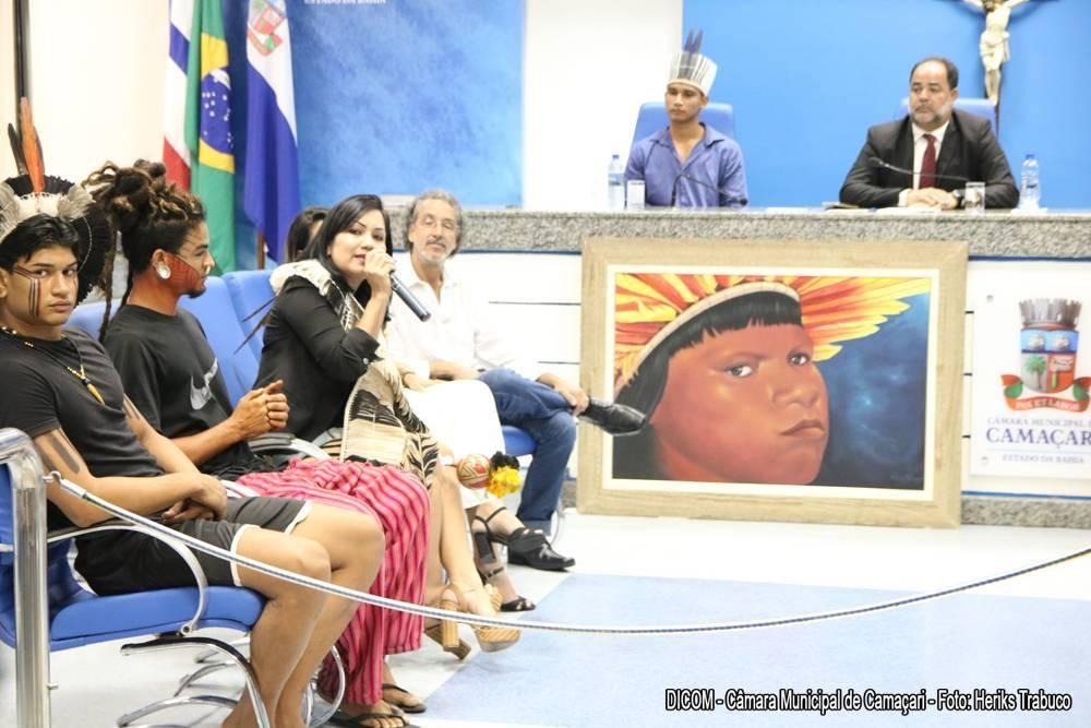 Câmara festeja Dia do Índio com sessão especial sobre povo Tupinambá
