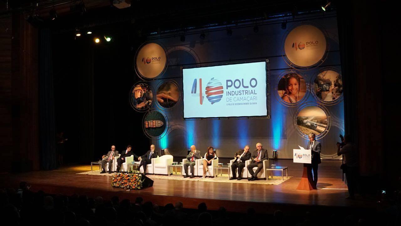Fórum celebra os 40 anos do Polo Industrial de Camaçari